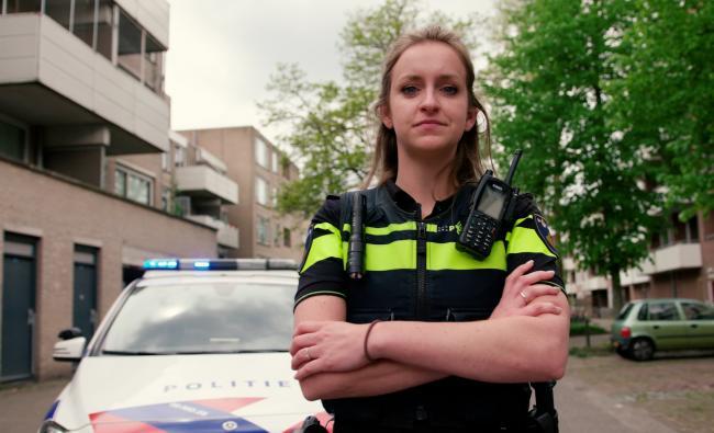 Politievrouw